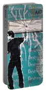 Destroy My Walls Portable Battery Charger