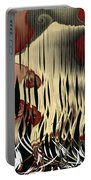 Destruction Of The Earth Abstract Portable Battery Charger