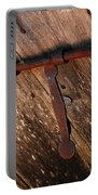 Detail Antique Door Portable Battery Charger