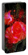 Detailed Roses Portable Battery Charger