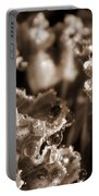 Details In The Dew Sepia Portable Battery Charger