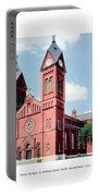 Detroit - Sheridan Avenue - St Anthony Catholic Church - 1910 Portable Battery Charger