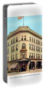 Detroit - The Brunswick Hotel - Grand Rive And Cass Avenues - 1900 Portable Battery Charger