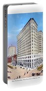 Detroit - The Lafayette Building - Michigan Avenue Lafayette And Shelby Streets - 1924 Portable Battery Charger