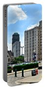 Detroit As Seen From Comerica Portable Battery Charger