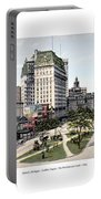 Detroit - Cadillac Square - 1905 Portable Battery Charger