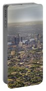 Detroit City  Portable Battery Charger by Nicholas  Grunas