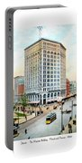 Detroit - The Majestic Building - Woodward Avenue - 1900 Portable Battery Charger