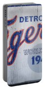 Detroit Tigers Wold Series 1945 Sign Portable Battery Charger