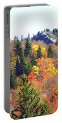 Devil's Courthouse In The Fall Portable Battery Charger