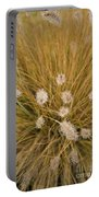 Dew On Ornamental Grass No. 3 Portable Battery Charger