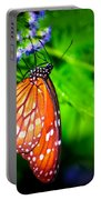 Dewdrop Butterfly Portable Battery Charger