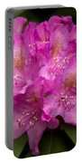 Dewy Rhododendron Portable Battery Charger