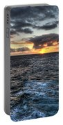 Diamond Head Sunset Portable Battery Charger