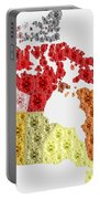 Diamonds Map Of Canada Portable Battery Charger