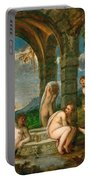 Diana And Actaeon Portable Battery Charger