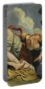 Diana And The Nymphs Surprised By Actaeon Portable Battery Charger