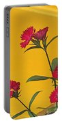 Dianthus At The Door Portable Battery Charger