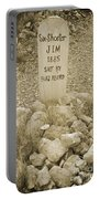 Died 1885 Tomstone Arizona Portable Battery Charger