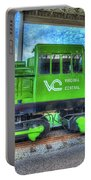 Diesel Locomotive Virginia Central No 3  Portable Battery Charger