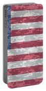 Digital Camo Us Flag Portable Battery Charger