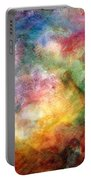 Digital Watercolor Abstract Portable Battery Charger