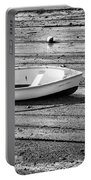 Dinghy At Low Tide Portable Battery Charger
