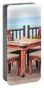 Dining Table Portable Battery Charger by Tom Gowanlock