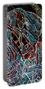Dinka Warrior Portable Battery Charger by Gloria Ssali