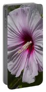 Dinner Plate Hibiscus Portable Battery Charger