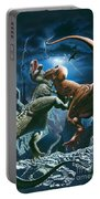 Dinosaur Canyon Portable Battery Charger