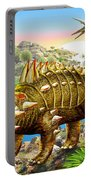 Dinosaur Panorama Portable Battery Charger