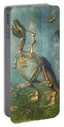 Dinosaur Warrior  Portable Battery Charger