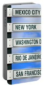 Direction Signs Portable Battery Charger