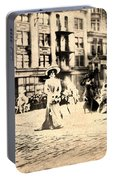 Directoire Gown - Philadelphia Mummers 1909 Portable Battery Charger