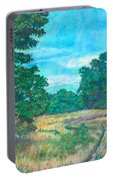 Dirt Road Near Rock Castle Gorge Portable Battery Charger