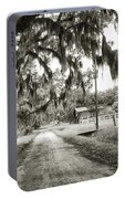 Dirt Road On Coosaw Plantation Portable Battery Charger