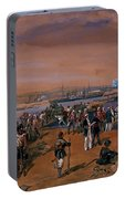 Disembarkation - Kerch, 24 May 1855 Portable Battery Charger