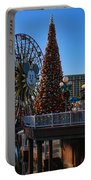 Disney California Adventure Christmas Portable Battery Charger