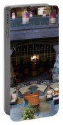 Disneyland Grand Californian Hotel Fireplace 01 Portable Battery Charger
