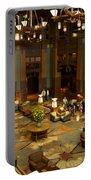 Disneyland Grand Californian Hotel Lobby 04 Portable Battery Charger