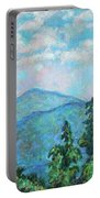 Distant View Of Peaks Of Otter Portable Battery Charger