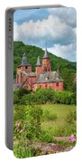 Distinctive Red Sandstone Buildings Portable Battery Charger