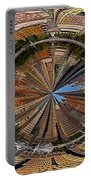 Distorted Lower Manhattan Portable Battery Charger