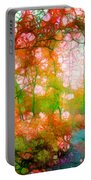 Distortions Of Autumn Portable Battery Charger