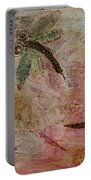 Rustic Dragonflies Pinks Portable Battery Charger