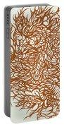 Divergant Orange Portable Battery Charger