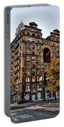 Divine Lorraine Hotel In Philadelphia Portable Battery Charger