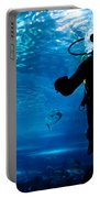 Diving In The Ocean Underwater Portable Battery Charger