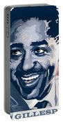 Dizzy Gillespie Portrait Portable Battery Charger